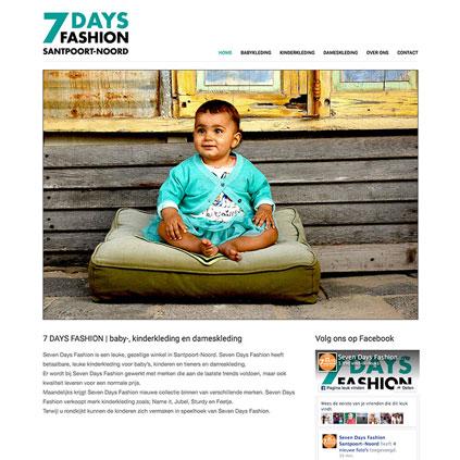 7 Days Fashion - website
