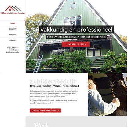 Akkerman Painting Services - website
