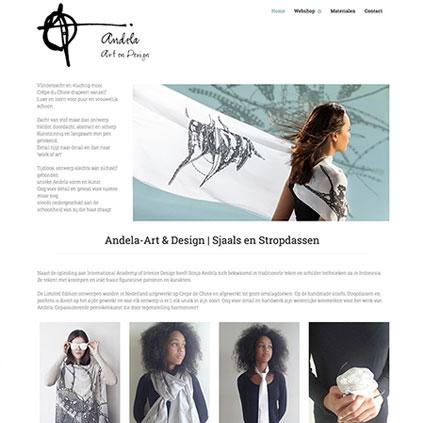 Andela Art & Design - webshop