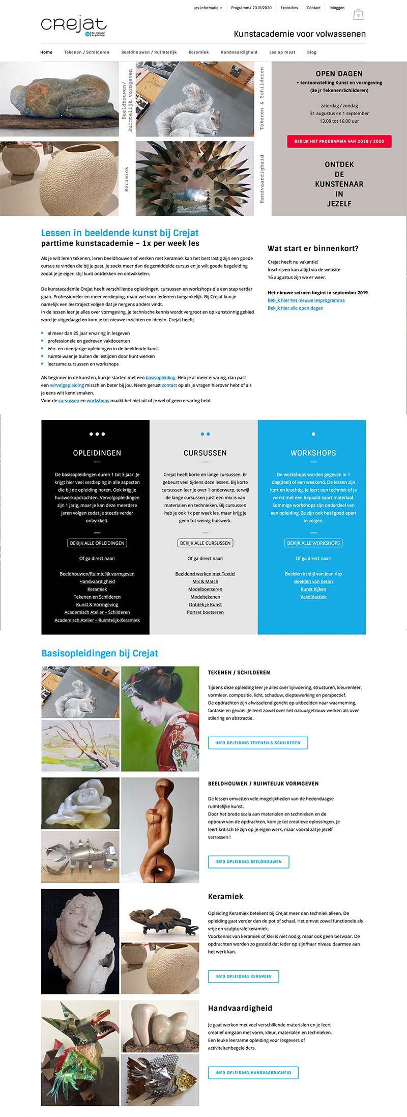 Crejat - webshop