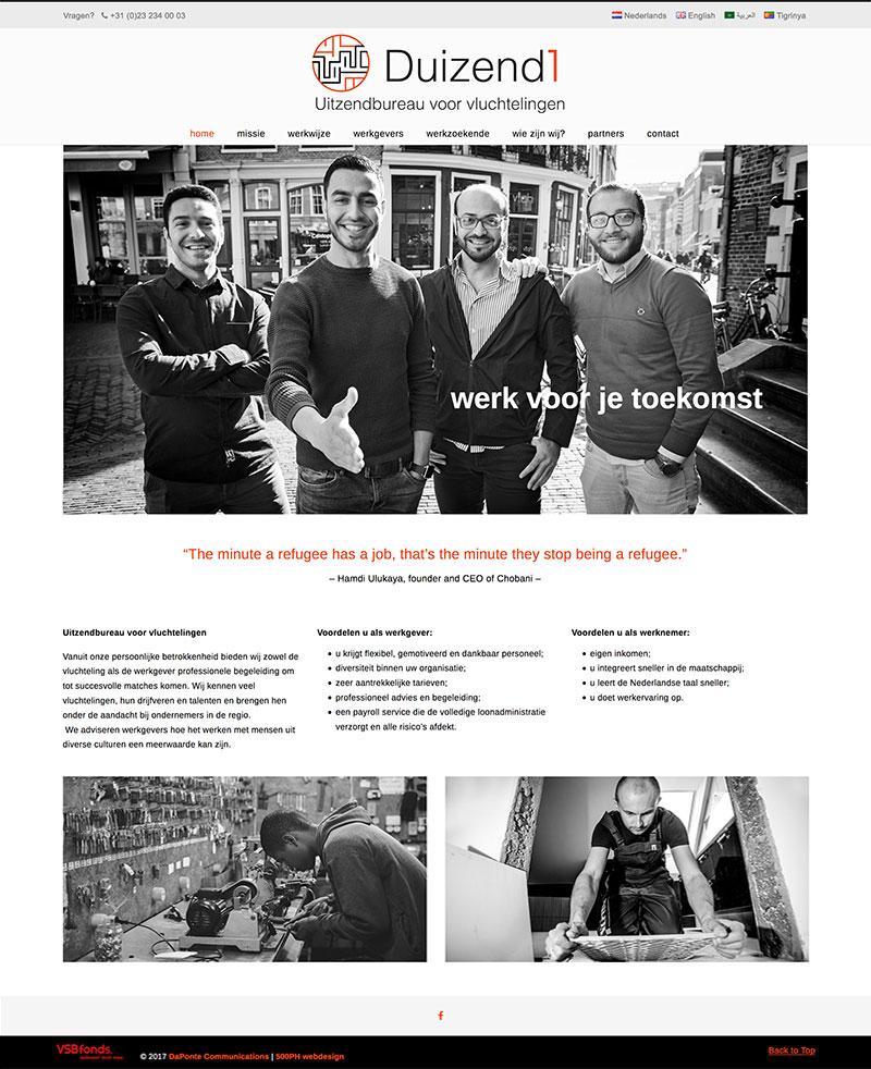 Duizend1 - website
