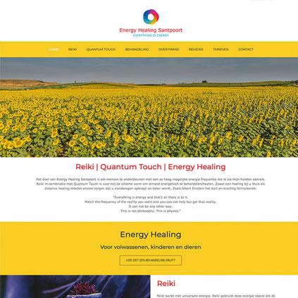Energy Healing Santpoort - website
