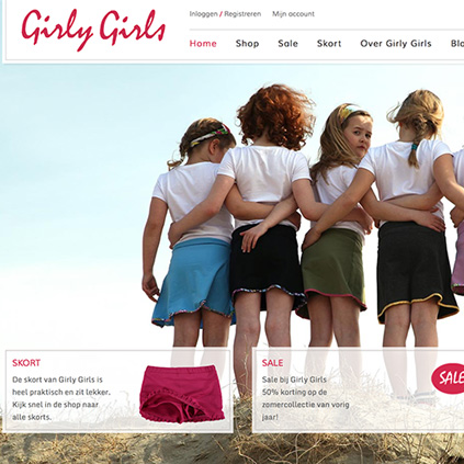 Girly Girls - webshop
