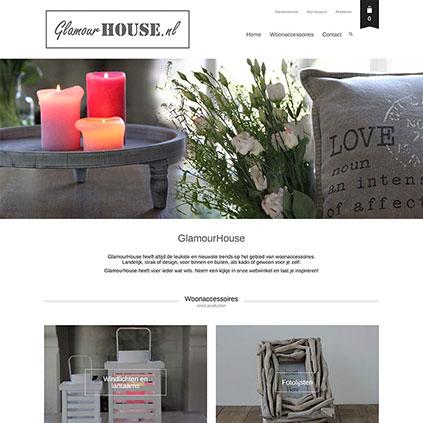 Glamour House - webshop