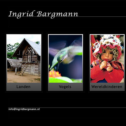 Ingrid Bargmann - website