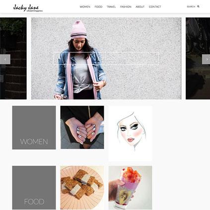 Jacky Jane - website