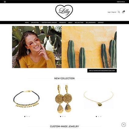 Lilly Jewelry - webshop