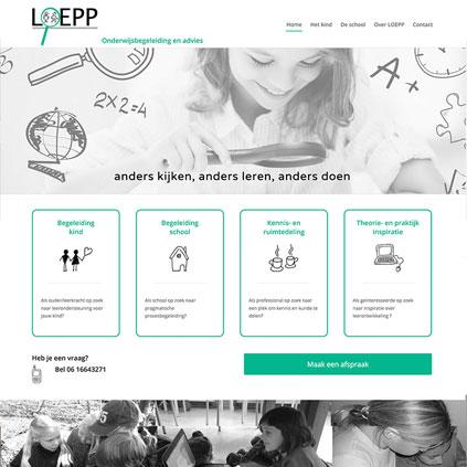 Loepp - website