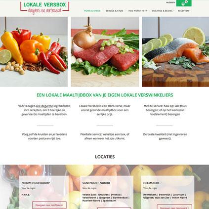 Lokale Versbox - website