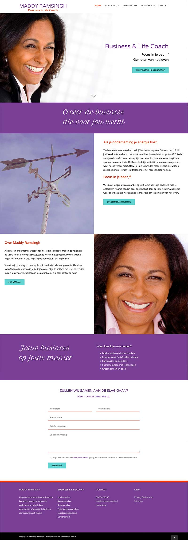 Maddy Ramsingh - website