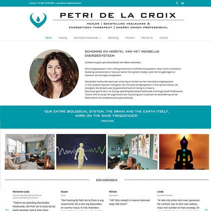 Petri de la Croix - website