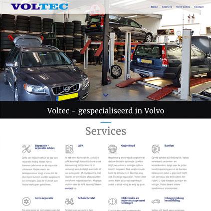 Voltec Santpoort - website