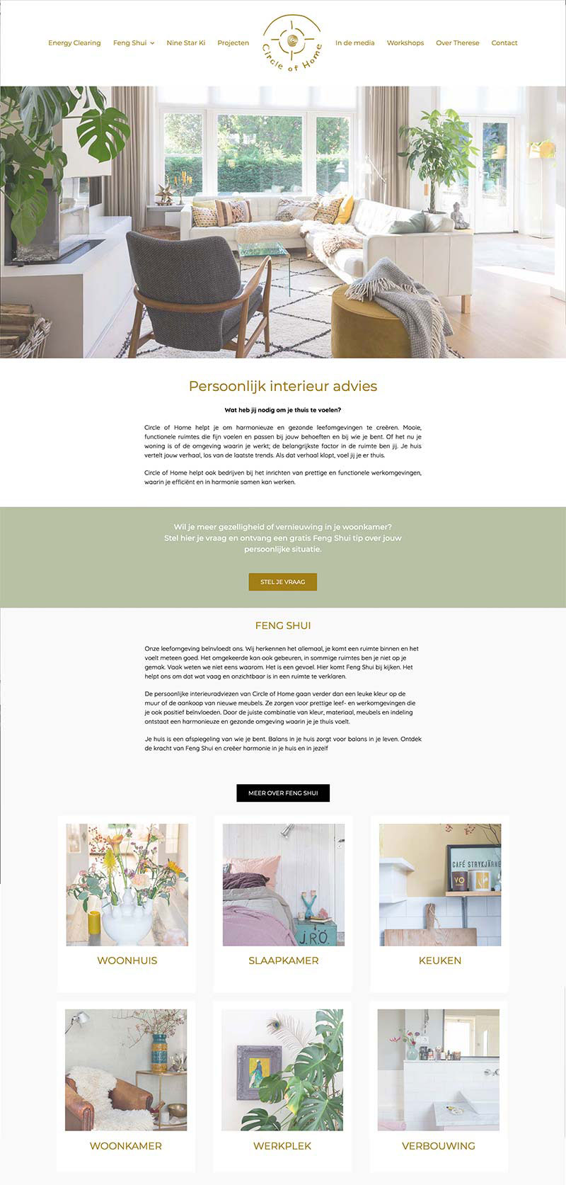 Circle of Home - website