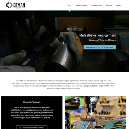 Ofman Montage - website
