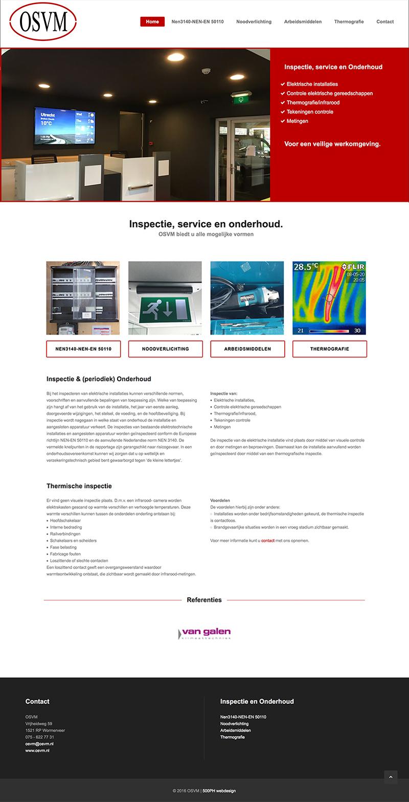 OSVM - website