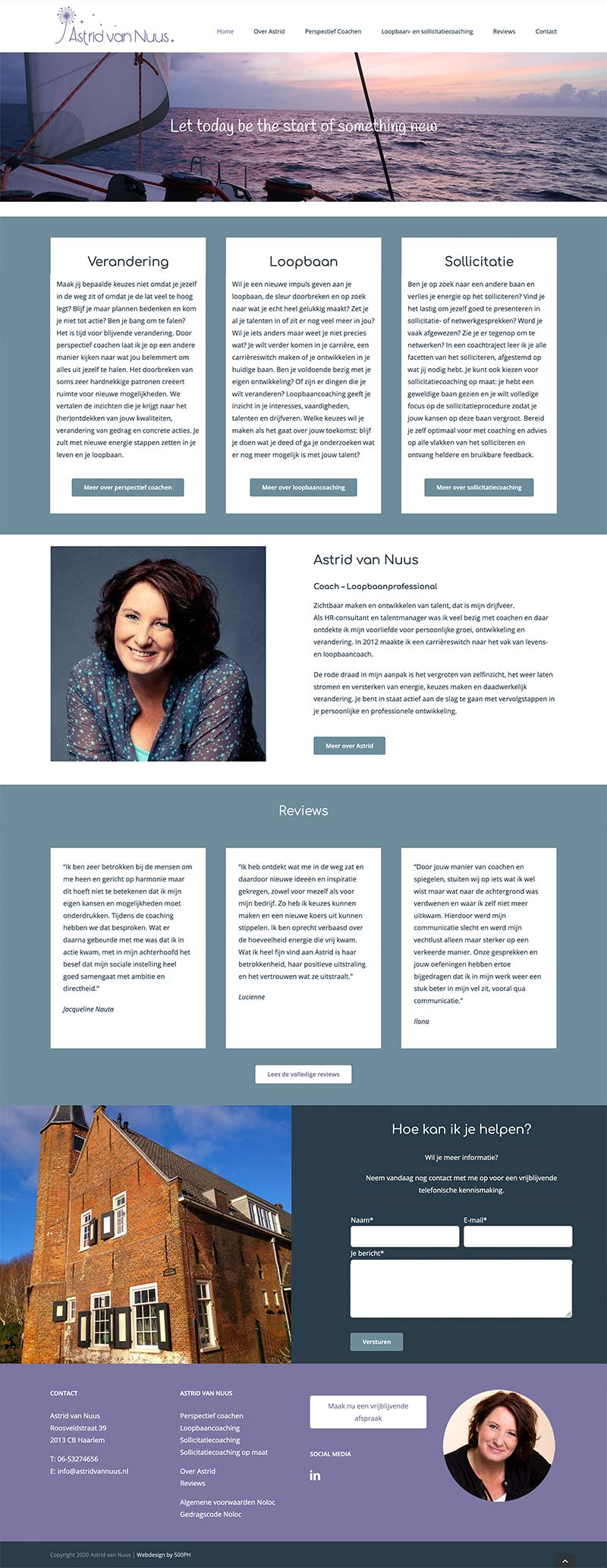 Astrid van Nuus | Website