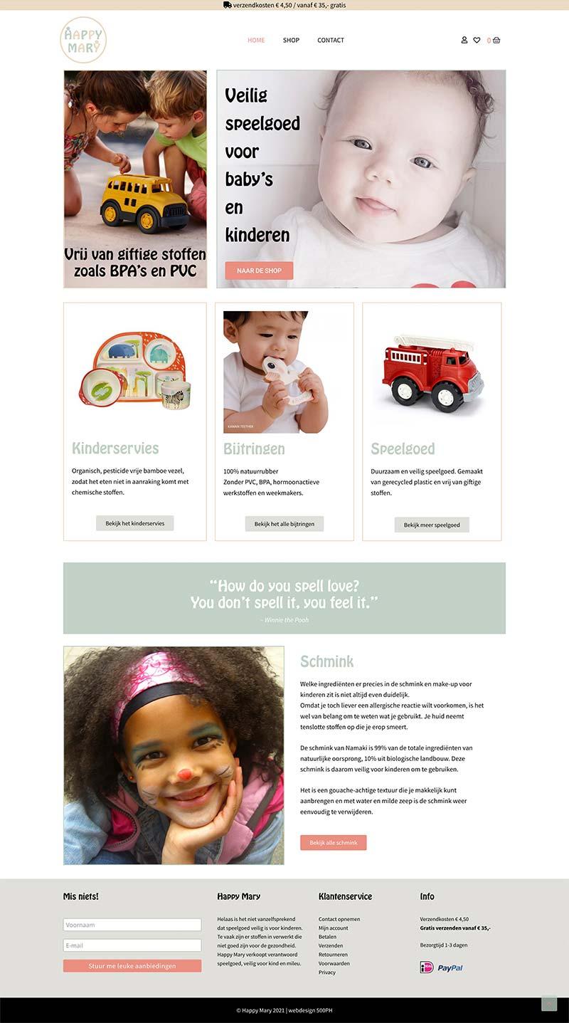 Happy Mary   Website