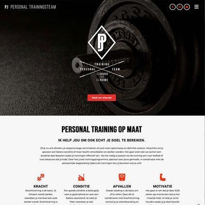 PJ Personal Trainer | Website